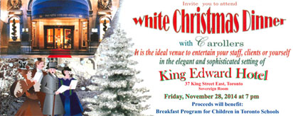 More about: White Christmas Dinner 2014