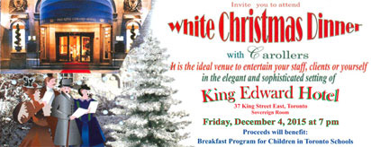 More about: White Christmas Dinner 2015