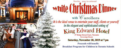 More about: White Christmas Dinner 2019